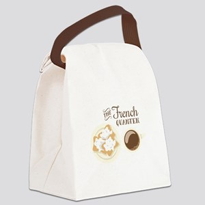 The French Quarter Beignets Canvas Lunch Bag