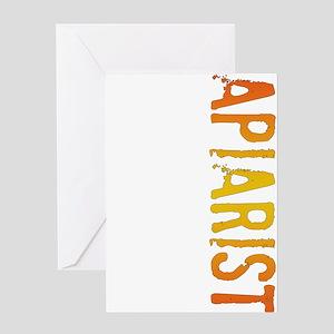 stamp-apiarist Greeting Cards