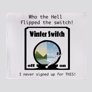 Winter Switch Throw Blanket