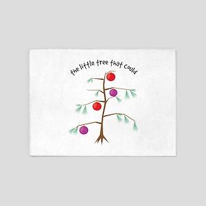 Little Tree 5'x7'Area Rug