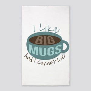 I Like Big Mugs Area Rug