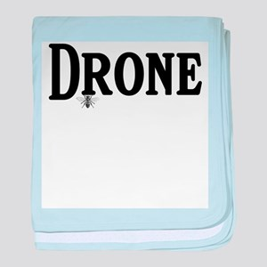 drone baby blanket