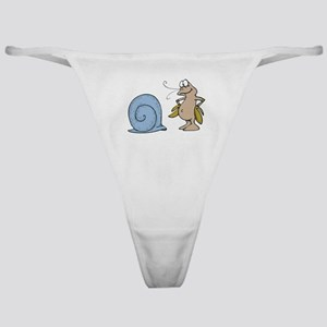 Hermit Crab Out of His Shell Classic Thong