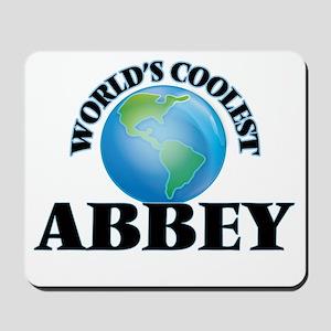 World's Coolest Abbey Mousepad