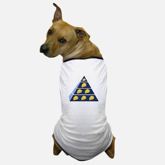 Cheese Pyramid Dog T-Shirt