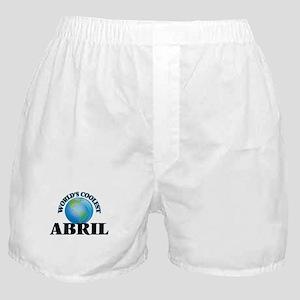 World's Coolest Abril Boxer Shorts