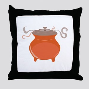 Chili Pot Throw Pillow
