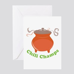 Chili Champs Greeting Cards
