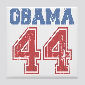 team-obama44D Tile Coaster