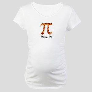 misc-pi-pizza Maternity T-Shirt