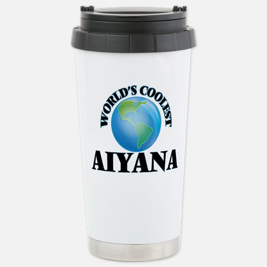 World's Coolest Aiyana Stainless Steel Travel Mug