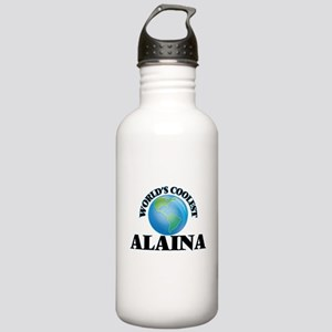 World's Coolest Alaina Stainless Water Bottle 1.0L