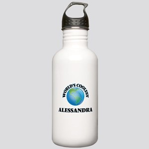 World's Coolest Alessa Stainless Water Bottle 1.0L
