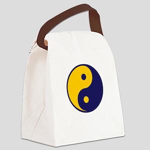 yyu-maizeblue Canvas Lunch Bag