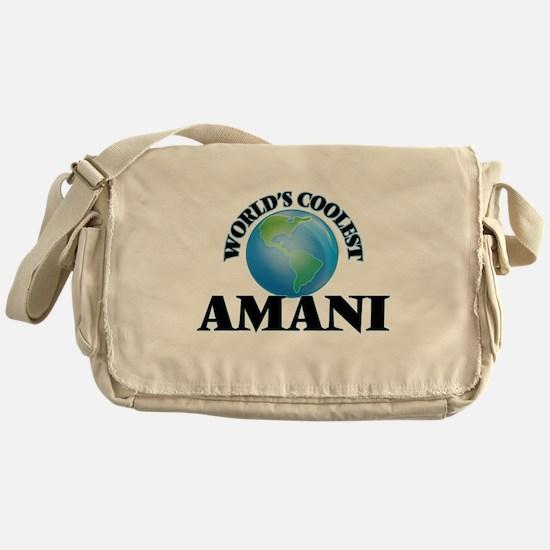 World's Coolest Amani Messenger Bag