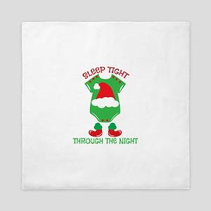Sleep Tight Through The Night Queen Duvet