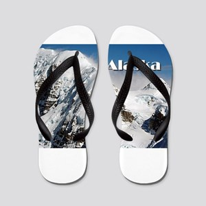 Alaska Range mountains, Alaska, USA (ca Flip Flops