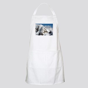 Alaska Range mountains, Alaska, USA (caption Apron