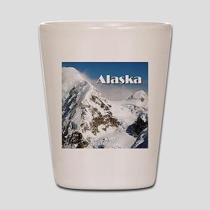 Alaska Range mountains, Alaska, USA (ca Shot Glass