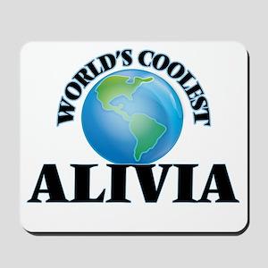 World's Coolest Alivia Mousepad