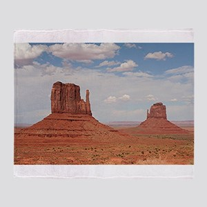 Monument Valley, Utah Throw Blanket