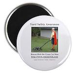Yard Safety Awareness Magnet (100 Pack) Magnets