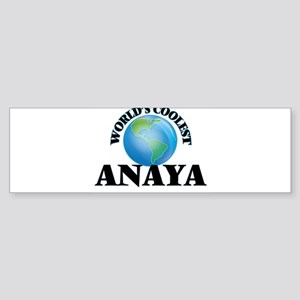 World's Coolest Anaya Bumper Sticker
