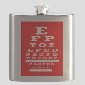 Eye Chart Opthalmology Flask