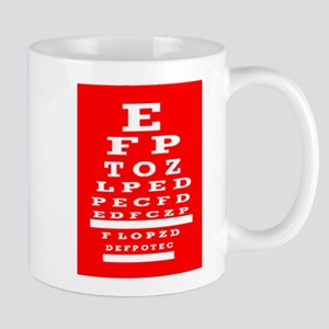 Eye Chart Opthalmology Mugs