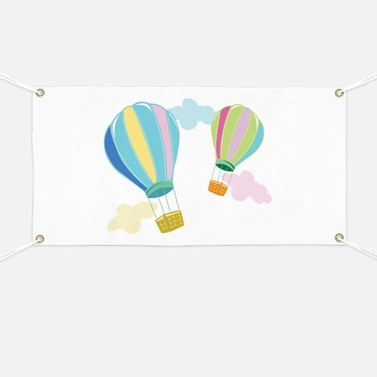 Hot Air Balloons Banner