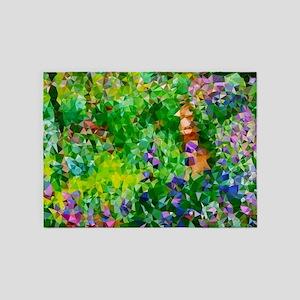 Geometric Artist Garden Giverny after Monet 5'x7'A