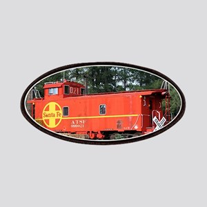 Santa Fe Railway Train Caboose, Williams, Patches