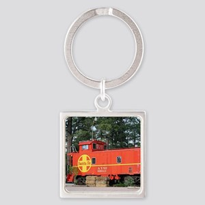 Santa Fe Railway Train Caboose, Keychains