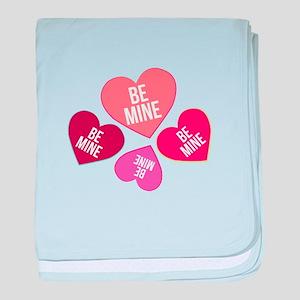Be Mine baby blanket
