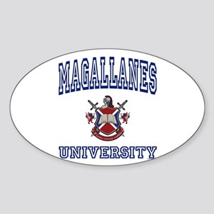MAGALLANES University Oval Sticker