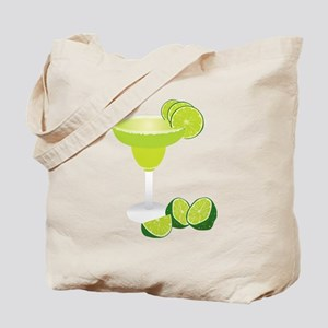 Margarita and limes Tote Bag