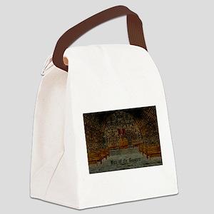 Medieval Tavern Canvas Lunch Bag