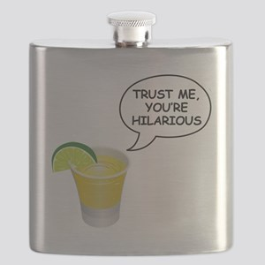 Trust Me, you're hilarious Flask
