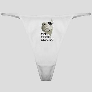 No prob llama Classic Thong
