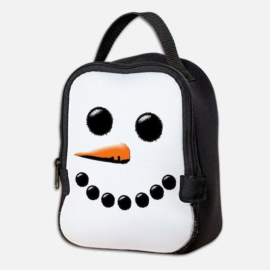 Cute Holiday Neoprene Lunch Bag