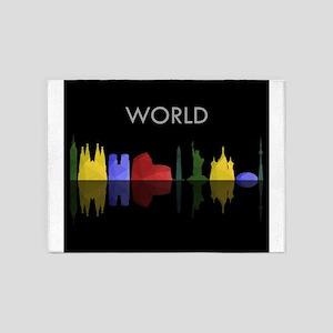 skyline world 5'x7'Area Rug