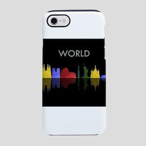 skyline world iPhone 7 Tough Case