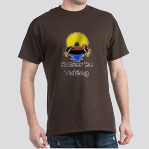 Rather be Tubing brown T-Shirt