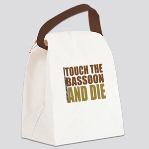 touch-bassoon Canvas Lunch Bag