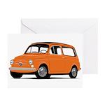 Fiat Giardinera Greeting Cards (Pk of 10)