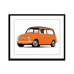 Fiat Giardinera Framed Panel Print