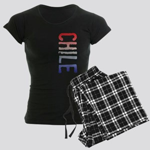 co-stamp02-chile Women's Dark Pajamas