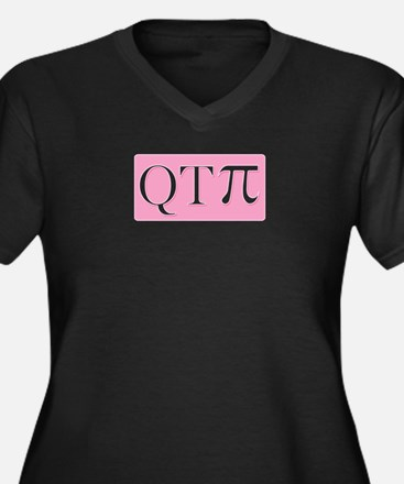 math-pi-qtpiB Plus Size T-Shirt