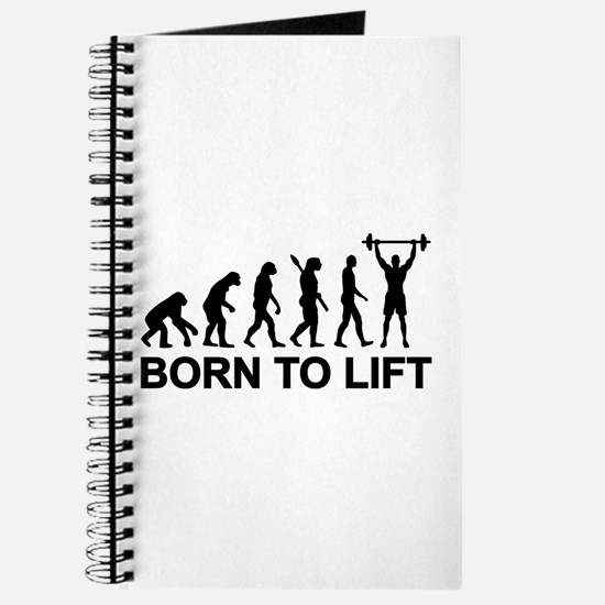 Evolution born to lift weightlifting Journal