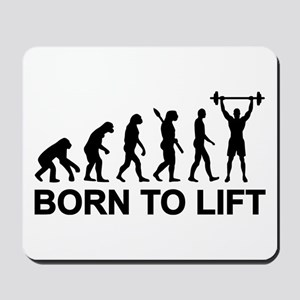 Evolution born to lift weightlifting Mousepad